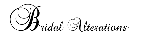 Bridal alterations. Alterations service for the Bride, Bridesmaids, Flower girls, Mother of Bride